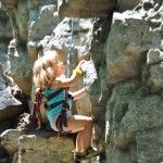 Do you climb with kids? Laura reports on a kid-friendly climbing area she was recently at - Elizabeth Furnace, Va.