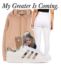 Greater~~ by be-you-tiful-flower on Polyvore featuring polyvore, fashion, style, adidas Originals and clothing