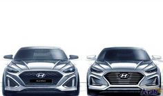 Hyundai reveals dramatic changes in Sonata facelift
