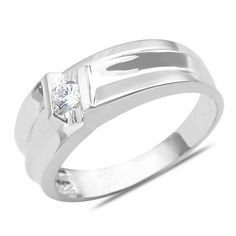 Ebay NissoniJewelry presents - Men's 1/10CT Diamond Weddign Band in 10k White Gold with a Cage Back Model Number:GR9486B-W077 http://www.ebay.com/itm/Men-s-1-10CT-Diamond-Weddign-Band-in-10k-White-Gold-with-a-Cage-Back/221630492996