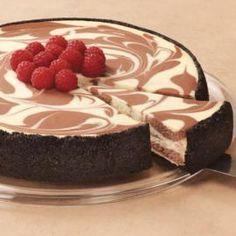 ¿Cómo hacer un pastel de queso Marble Chocolate.