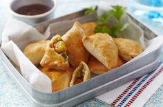 Vegetable Samosas With Mango Chutney - Tesco Real Food - Tesco Real Food