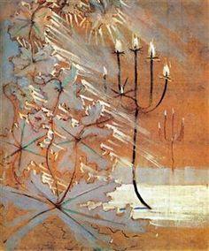 Winter (V) - Mikalojus Konstantinas Ciurlionis