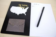 Silhouette Blog: FREE Shape of the week & a DIY Travel Journal
