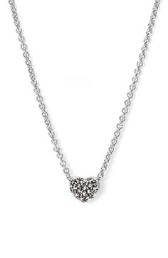 Judith Jack Reversible Pavé Heart Necklace available at #Nordstrom