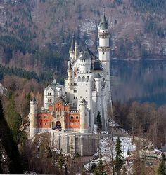 Castillo Neuschwanstein (alemania)