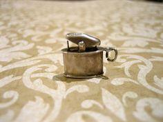 Vintage Sterling Silver Cigarette Lighter Charm by charmingellie, $14.00