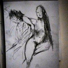 Life drawing by Kiira Sirola © Life Drawing, Surrealism, Storytelling, Animation, Drawings, Illustration, Instagram Posts, Art, Art Background