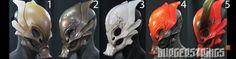 Djinn Masks by burgerstrings on DeviantArt