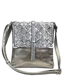 Buy Rhinestone Sparkle Top Bling Cross Body Bag Silver - and find your  ideal Women Crossbody Bags at affordable prices and fast shipping. 1a6afb02b3fb8