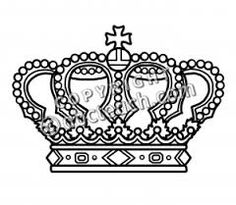 Image result for crown designs in black and white cliparts