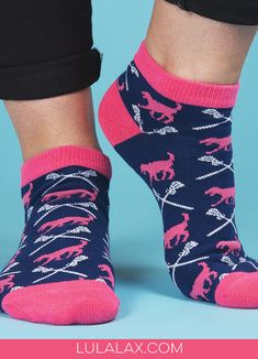 Two of our favorite things: LuLa the Lax Dog and fun ankle socks! Paired together, they make an awesome, LuLaLax exclusive gift for your lax girl!