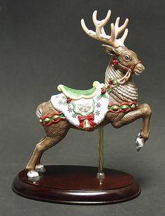 Carousel Statues:  Lenox Reindeer