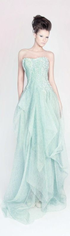Rami Kadi Couture 2013 - not crazy about the color but love the design!