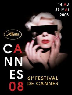 Cannes Film Festival poster by David Lynch, 2008