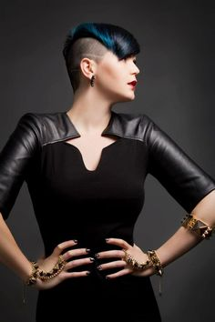 Model- Kate/ Stylist- Cara Robinson/ Colourist - Santina Fazio /Make up- Kayreen/ Fashion stylist -Tamzen Holland / Photographer Elizabeth Grinter. Stelios Papas salon