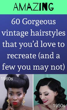 You May, Just Amazing, Vintage Hairstyles, Love, Hair Styles, Funny, Diy, Beauty, Beleza