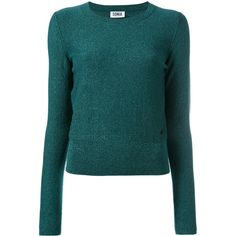 Sonia By Sonia Rykiel Sparkly Knit Jumper ($288) ❤ liked on Polyvore featuring tops, sweaters, sparkly tops, blue sparkly top, jumpers sweaters, jumper top and blue sweater