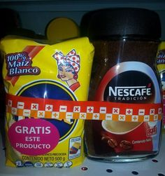 AGRESIVIDAD EN EL MERCADO..en Colombia.. Empresas Polar para hacer conocer y popularizar sus productos..los Obsequia con la compra dentro de los rubros mas preferidos por el Colombiano. ejemplo en el café..