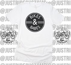265a14372acd Bikes   Babes Custom Tee Hat Coozie - Dirt Bike T-Shirt Supercross Moto  Motorcycle