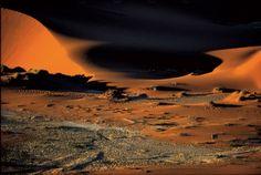 Le désert du Namib, région de Swakopmund, Namibie