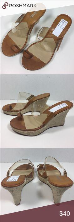 Carmel Brown Michael Kors Wedges Girl night out fun & flirty Carmel Brown Michael Kors Wedges MICHAEL Michael Kors Shoes Wedges