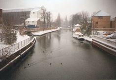 Snow in Ware, Hertfordshire