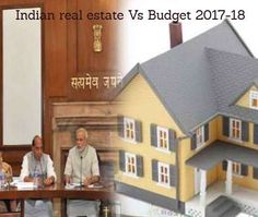 Welcome move for Indian real estate! Budget 2017-18 stresses upon granting infrastructure status to affordable housing.