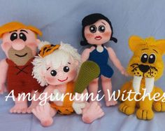 Betty Rubble by AmigurumiWitches on Etsy