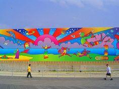 Peter Max mural
