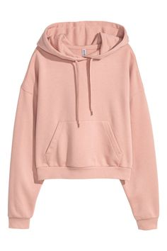 H&M Short Hooded Sweatshirt - Orange Hm Outfits, Cute Comfy Outfits, Teen Fashion Outfits, Teenager Outfits, Outfits For Teens, Hoodie Outfit, Sweater Hoodie, Hoodie Sweatshirts, Hoody
