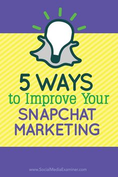 5 Ways to Improve Your Marketing Inbound Marketing, Business Marketing, Content Marketing, Online Marketing, Social Media Marketing, Digital Marketing, Marketing Ideas, Strategy Business, Mobile Marketing