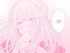 ideas flowers ilustrations pastel for 2019 Anime Kawaii, Loli Kawaii, Anime Love, Cute Anime Pics, Anime Girl Pink, Manga Girl, Manga Anime, Anime Art, Pink Aesthetic