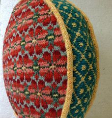 Suzanne Bryan: Fair Isle Pillow with Steeks
