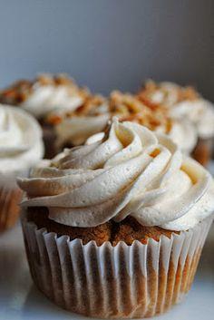 Spiced Caramel Apple Cupcakes Recipe