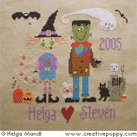 halloween wedding sampler