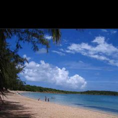 This is the beach in my hometown .. We will be here from dawn until sunset .. Love Seven Seas Fajardo, Puerto Rico