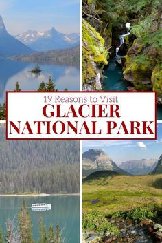 Yes, Glacier National Park is way up there on the Canadian border in Montana. But it is worth it to go visit this unbelievably beautiful place. If Glacier isn't on your destinations bucket list it should be! Here are all the ideas you need to make it a m