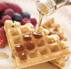 Excellent waffle recipe from fine cooking that lives up to its name of being the crispiest waffle.