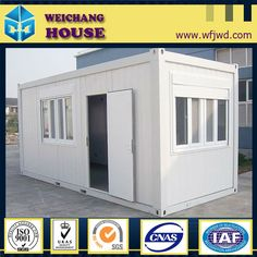 Pre-made container house:  Low cost and high quality  Stong structure and long service life  Good insulation and assembled easy
