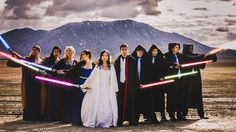 """So naturally, no other theme stood a chance for their Jan. 10 wedding — although actually, """"theme"""" isn't quite the right word. 