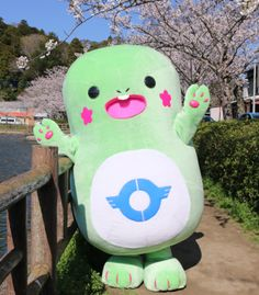 Totchi is the official mascot for the city of Togane, Chiba Prefecture, Japan