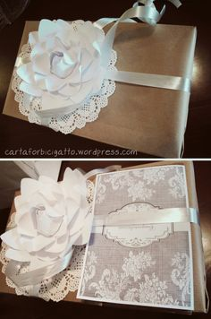 wedding gift wrapping and cards