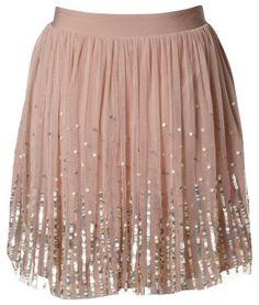 Sequin tutu skirt