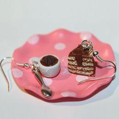 cake+and+coffee+earrings+food+earrings+by+Dleesnow+on+Etsy,+$9.00