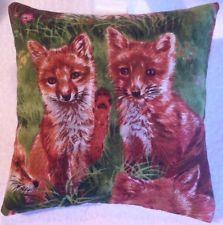 Fox Gift / Fox Fabric Lavender Bag / Fox Birthday Gift / Fox Cubs - Handmade