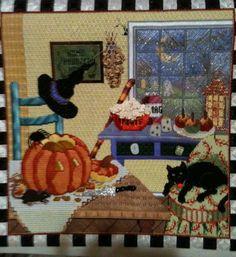Sandra Gilmore Halloween Kitchen