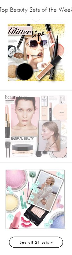 """""""Top Beauty Sets of the Week"""" by polyvore ❤ liked on Polyvore featuring beauty, Fendi, NARS Cosmetics, Le Métier de Beauté, Inglot, L'Oréal Paris, Urban Decay, Bobbi Brown Cosmetics, Marni and MAC Cosmetics"""