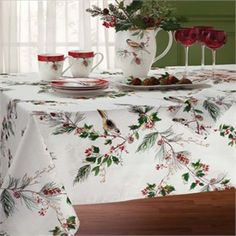 lenox winter song christmas tablecloths lenox christmas place mats lenox christmas green christmas