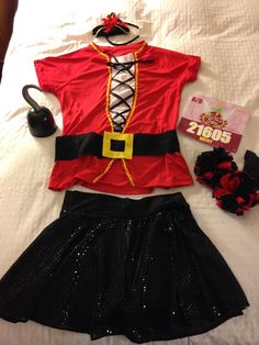 Captain Hook running costume
